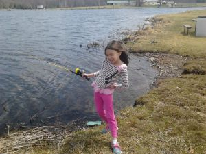 Hannah Fishing
