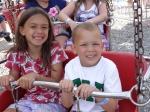 Hannah and Jay at the Wayne County Fair