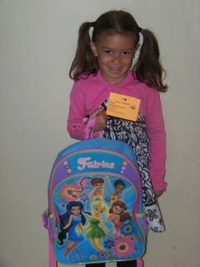 Hannah's first day of Kindergarten - pic 1