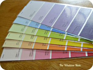 Laminating swatches ensures several uses.