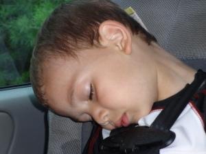 Exhausted Jayden