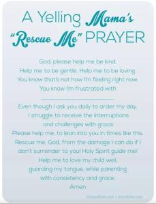 Yelling Rescue Prayer