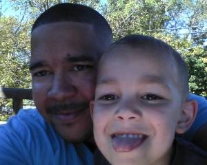Daddy and Jay are two peas in a pod. Having my son made me appreciate my husbands finer qualities all the more because my son shares them.
