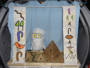 Our Egyptian themed trunk.