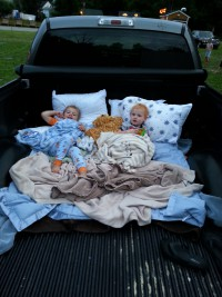 Drive- in movie
