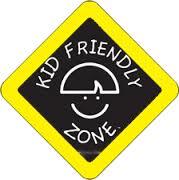 Kid Friendly Sign