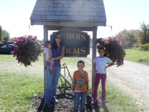 Local U-Pick Farms like Dubois Farms in Highland have fantastic fruit and veggies for great prices, they also give the family a fun outing together that teaches kids where food really comes from.