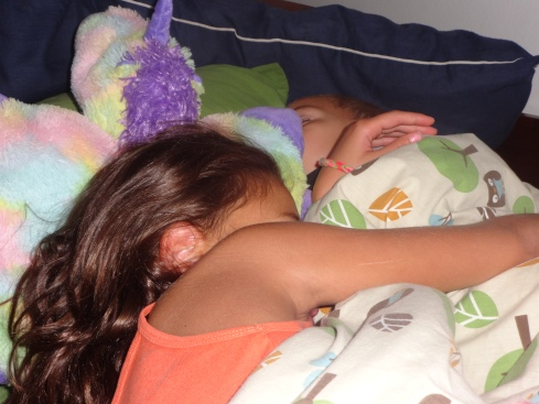 Despite all their fighting, they snuggle at night when Jayden is lonely.