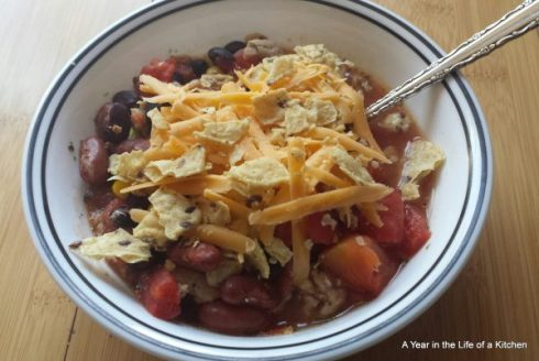 Easy Crockpot Taco Soup