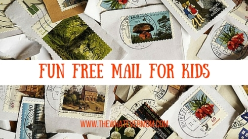 Fun FREE Mail for Kids