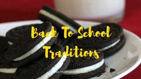 Back To SchoolTraditions