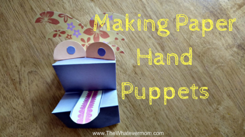 making-paperhand-puppets