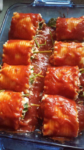Lasagna Rolls 2
