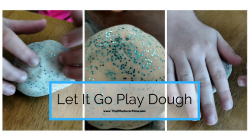 DIY let It Go Dough